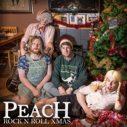 ROCK N ROLL XMAS - PEACH
